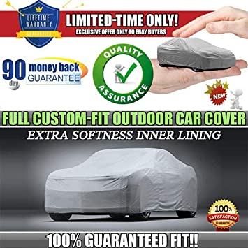7-Year Warranty All-Weather Car Cover 100/% Waterpoof//100/% Snowproof//100/% UV /& Heat Protection//100/% Dustproof//100/% Scratchproof Indoor Outdoor Cars Length Up to 185