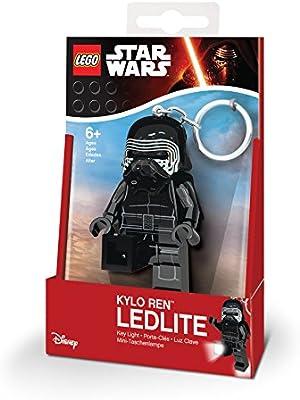 LEGO 31254 - Llavero de Kylo REN de Star Wars con minilinterna y Llavero con luz led, 7,6 cm
