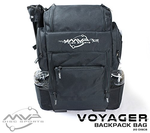 MVP Disc Sports MVP Voyager Backpack Bag Black Color by MVP Disc Sports