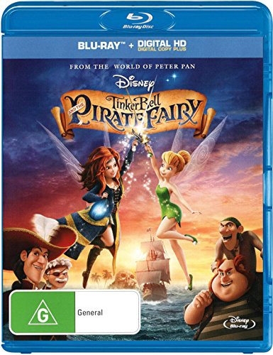 Tinker Bell and the Pirate Fairy [Blu-ray + DC] [Import - Australia]
