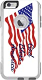 God Bless America Quote The American Flag Otterbox Commuter iPhone 6 Plus Vinyl Decal Sticker Skin