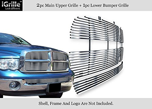 05 Dodge Ram Billet Grille - 9