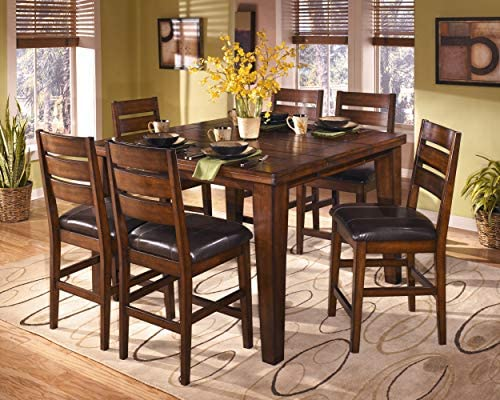 home, kitchen, furniture, game, recreation room furniture, home bar furniture,  barstools 4 image Ashley Furniture Signature Design - Larchmont Barstool Set - Pub in USA
