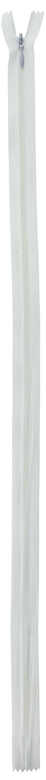 Coats & Clark F8422-WHT Invisible Zipper, 20 x 22, White