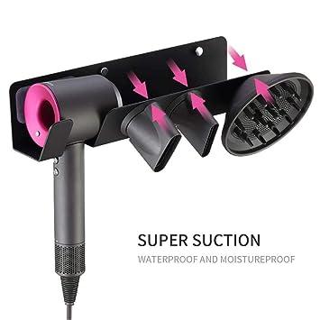 Dyson Soporte de pared para secador de pelo, soporte de pared para secador de pelo