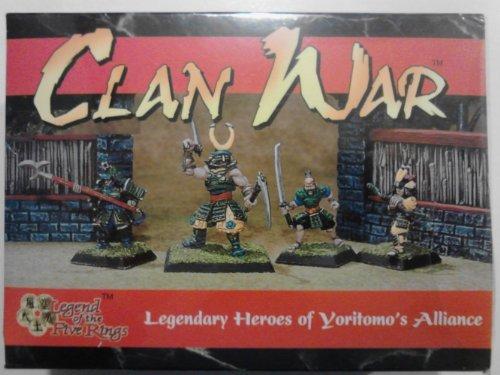 clan-war-legendary-heroes-of-yoritomos-alliance-miniature-4-pack-l5r-aeg-by-alderac-entertainment-gr