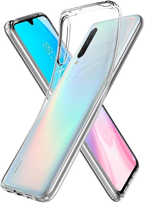 Spigen, Funda Compatible con Xiaomi Mi 9 Lite [Liquid Crystal] Protección Delgada de Gel Silicona y claridad Premium de TPU [Compatible con Carga Inalámbrica] - [Trasparente] S52CS26401: Amazon.es: Electrónica