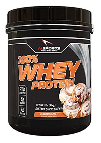 100% WHEY PROTEIN (Cinnamon Roll) by AI Sports Nutrition