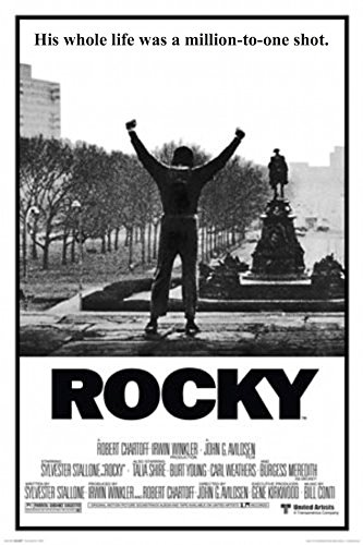 Rocky - His Whole Life Was Million to One Longshot 24x36 Pos
