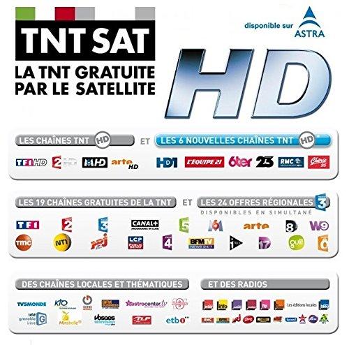 TECHWOOD Récepteur satellite FRANSAT HD TK30FHD02B: Amazon ...