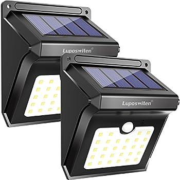 Amazon Com Neloodony Solar Motion Sensor Light Outdoor