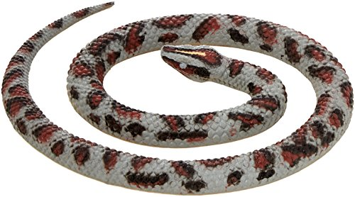 Wild Republic Rock Python, Rubber Snake Toy, Gifts for Kids, Educational Toys, 26 - Animals Python