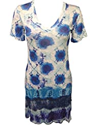 David Cline V Neck Dress 5227 - Cosmo