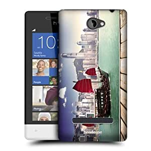 Head Case Designs Harbour City Hong Kong Best of Places Protective Snap-on Hard Back Case Cover for HTC Windows Phone 8S