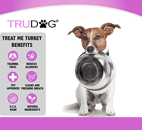 Real Meat Organic Dog Food-Feed Me: Freeze Dried Raw Superfood for Optimal Canine Health and Natural Longevity - All Natural - Balanced Nutrition - No Filters, No Grain - Just Add Water (Turkey, 14oz) by TruDog (Image #3)'