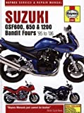 Suzuki GSF600, 650 and 1200 Bandit Service and Repair Manual: 1995 to 2006 (Haynes Service and Repair Manuals) by Coombs, Matthew, Mather, Phil 4th (fourth) Revised Edition (2006)