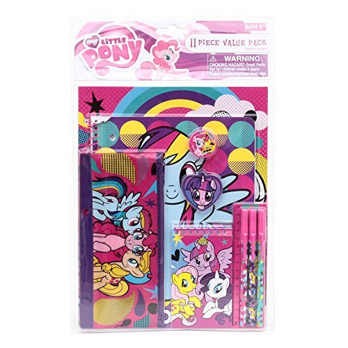 My Little Pony Pop Fashion Stationery 11pc Set
