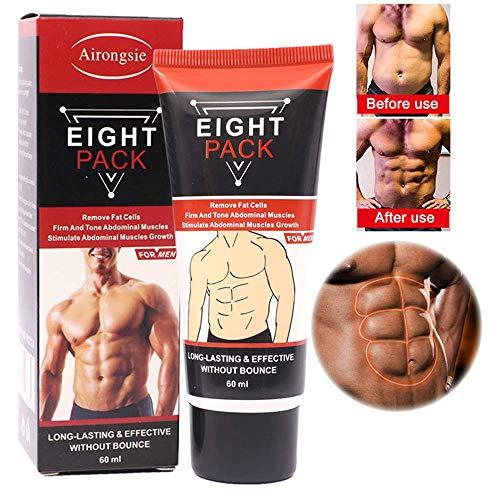 (Abdominal Cream, Men Women Abdominal Muscle Cream, Anti Cellulite Slimming Fat Burning Cream, Firming Increases Muscle Strength & Fat Burning )