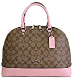 COACH Signature Sierra Satchel Handbag