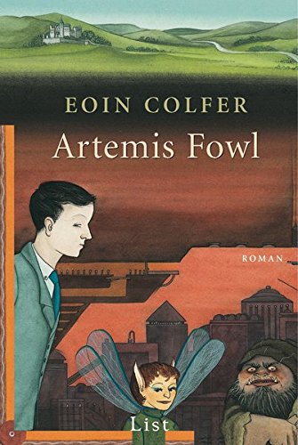 Book cover for Artemis Fowl