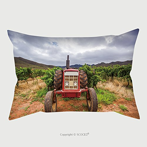 Custom Microfiber Pillowcase Protector Tractor In A Vineyard Robertson South Africa 565023046 Pillow Case Covers Decorative (Furniture Africa South Wicker Patio Outdoor)