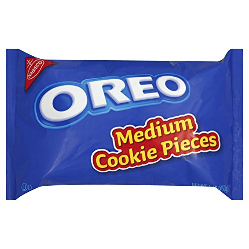 - Oreo Cookies Pieces, Medium, 16-Ounce Packages (Pack of 12)