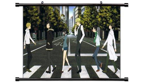 "Durarara!! Anime Fabric Wall Scroll Poster (32"" X 19"") Inches"