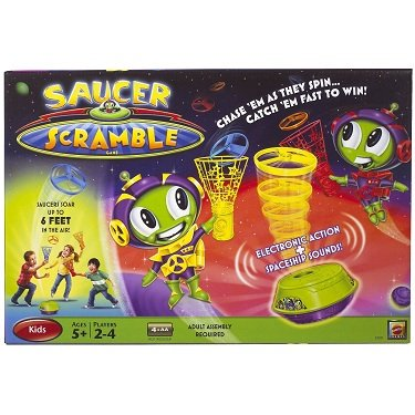 Saucer Fire (Saucer Scramble Game)
