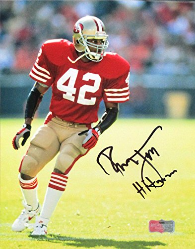 Ronnie Lott Autographed/Signed San Francisco 49ers Iconic 8x10 Color NFL Photo with