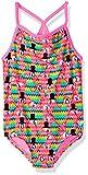 TYR Girls Love Bird Diamondfit Swimming One Piece, Pink Multi, Large