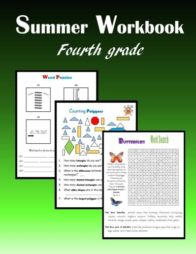 Summer Workbook:  Fourth grade