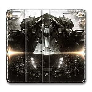 iCustomonline Batman Design Leather Cover for iPhone 6 Plus( 5.5 inch)