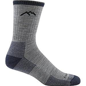 Darn Tough Hiker Micro Crew Cushion Socks - Men's Light Gray X-Large