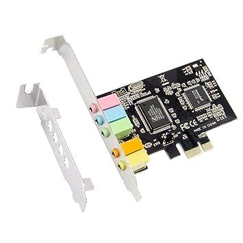Tarjeta de sonido PCIE Chip CMI8738 Tarjeta de sonido de ...