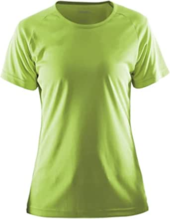 Craft Women's Essential Tee Shirt for Gym Sports Top, Lightweight Technical T