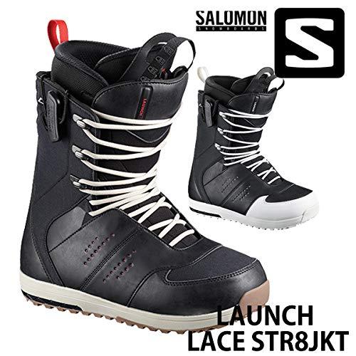 18-19 SALOMON/サロモン LAUNCH LACE STR8JKT ローンチ メンズ ブーツ スノーボード 2019 LACE-NAVY