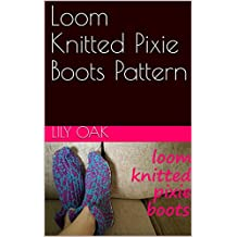 Loom Knitted Pixie Boots Pattern