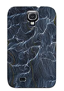 Chistmas' Gift - Cute Appearance Cover/tpu GzHJInY4269uEGiT Wavy Pattern Case For Galaxy S4