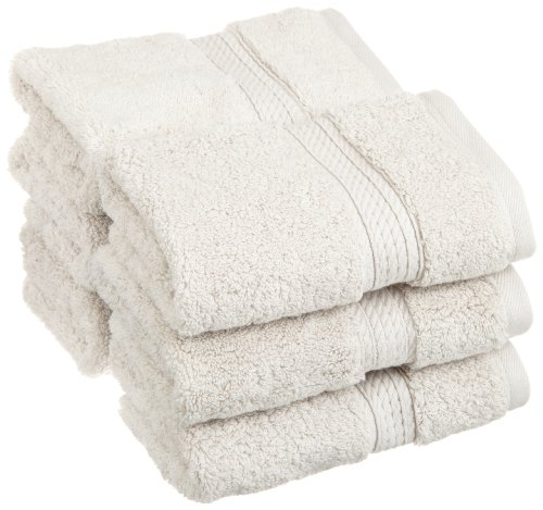 Superior 900 Gsm Luxury Bathroom Face Towels Made Of 100 Premium Long Staple Combed Cotton Set Of 6 Hotel Spa Quality Washcloths Stone 13 X 13 Each