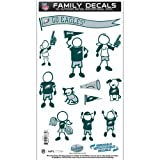 NFL Philadelphia Eagles Medium Family Decal Set