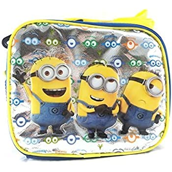 New Despicable Me Minions Look At You Lunch Bag-36554