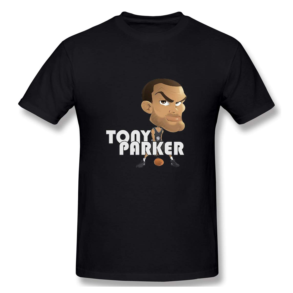 Tommying Sophy S Tony Parker Basketball Cartoon Muscle Tops Tee Short Shirts