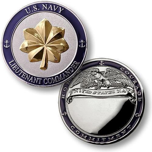 Commander Challenge Coin - Navy Lieutenant Commander
