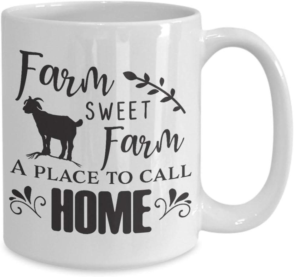 PMIHWH0023 Farm Sweet Farm A Place To Call Home Coffee Mug
