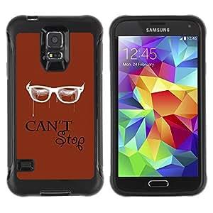 Paccase / Suave TPU GEL Caso Carcasa de Protección Funda para - Cant Stop - Samsung Galaxy S5 SM-G900