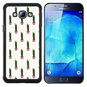 Dragon Case - FOR Samsung Galaxy A8 A8000 - Love is a springtime plan - Caja protectora de pl??stico duro de la cubierta Dise?¡Ào Slim Fit