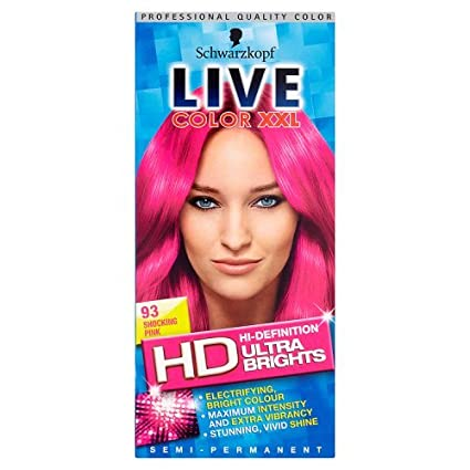 Schwarzkopf LIVE Color XXL Ultra Brights 93 Shocking Pink Schwarzkopf & Henkel 1728916