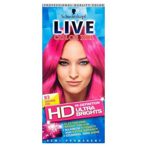 Couleur cheveux permanente rose