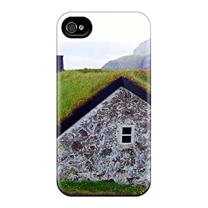 New Premium ZhiqiangYao Sod Roof On A House From Faroe Island Skin Cases Covers Excellent Fitted For Iphone 6
