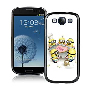 Hot Sale Samsung Galaxy S3 I9300 Screen Cover Case With Despicable Me 6 Black Samsung S3 I9300 Case Unique And Beautiful Designed Phone Case
